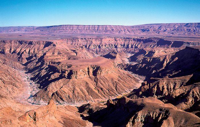 Fischfluss Canyon, Namibia