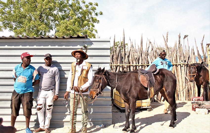 Ondonga Dorfleben