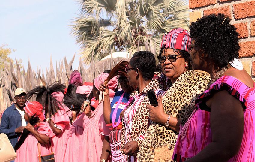 Ondonga Krönungszeremonie