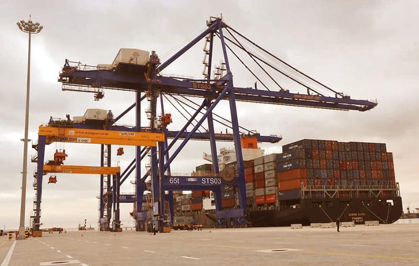 Walvis_Bay, neuer Containerterminal