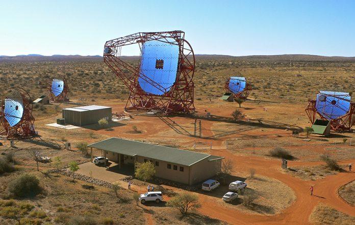 HESS Teleskope in Namibia