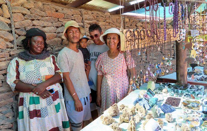 Ûiba-Ôas Kristallmarkt, Namibia