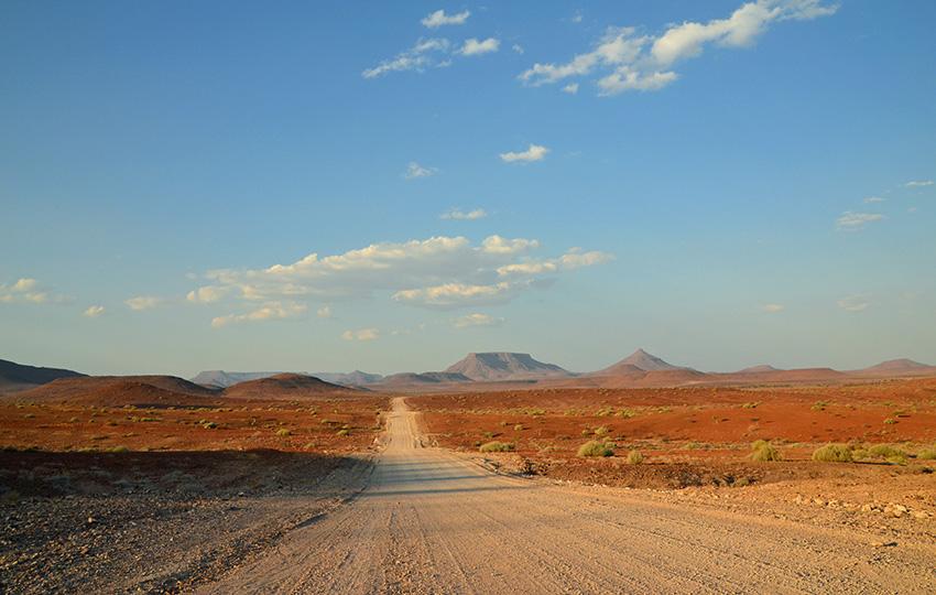 Straße im Kaokoland