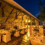 Chobe River Camp, Restaurant