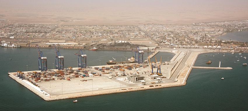 Walvis Bay, neuer Containerterminal