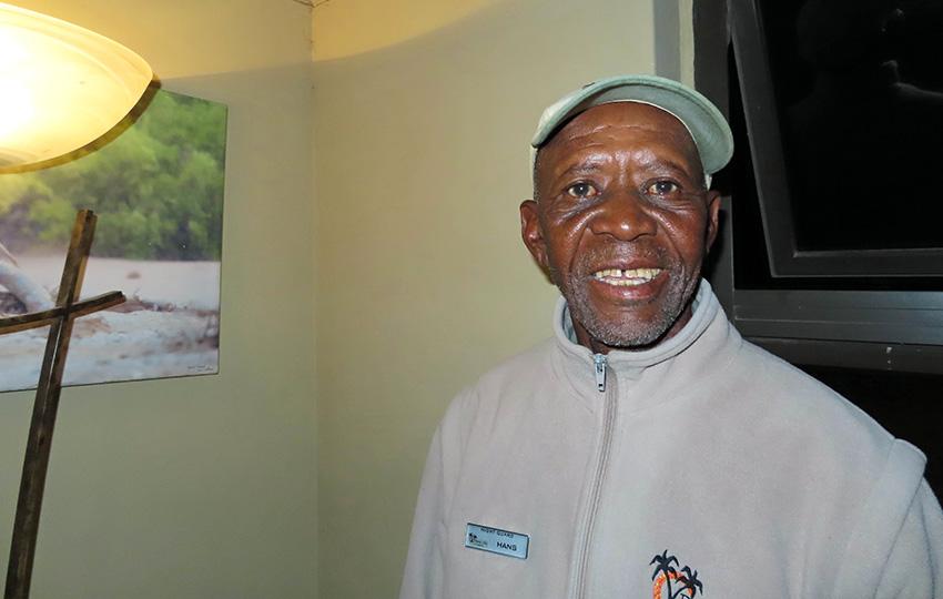Hans Gomeb, Namibia