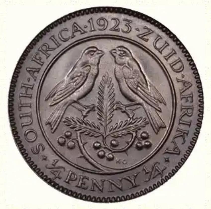 Münze mit Kapsperlingen