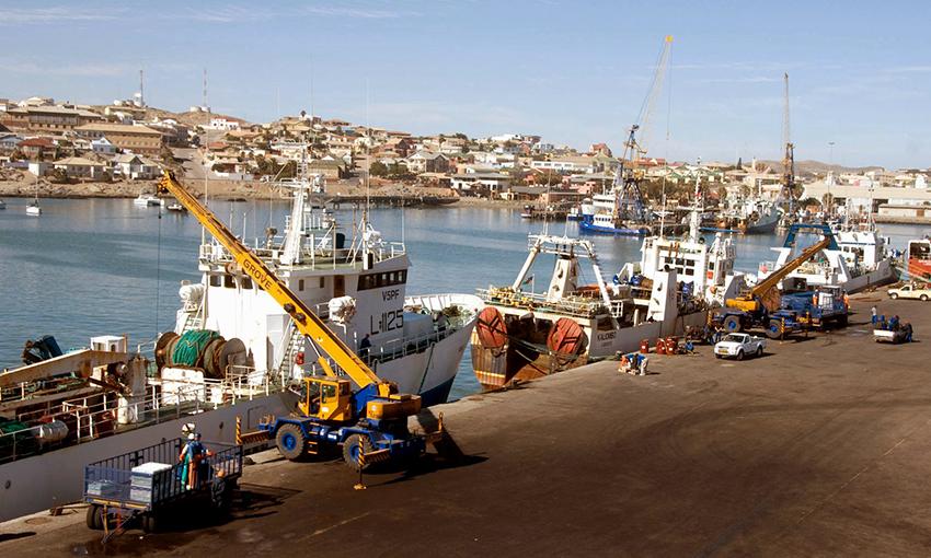 Hafen von Lüderitzbucht