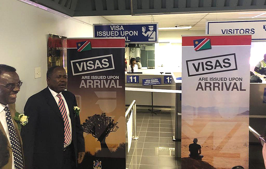 Visa E Counter, Windhoek