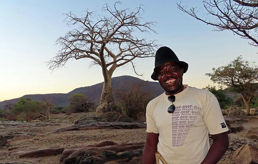 Venomambo Kandimine, Namibia