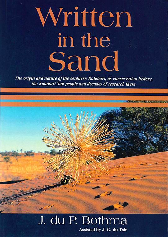 Buch WRITTEN IN THE SAND
