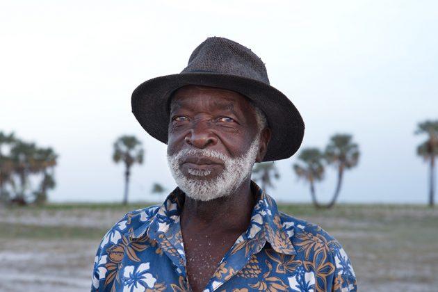 Porträtfoto aus dem Owamboland