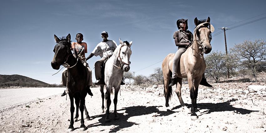 Reiter, Namibia