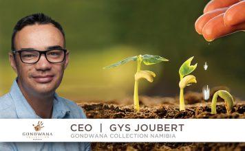 Gys Joubert, Gondwana Collection Namibia