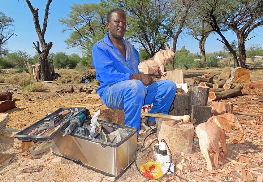 Holzschnitzereien, Namibia