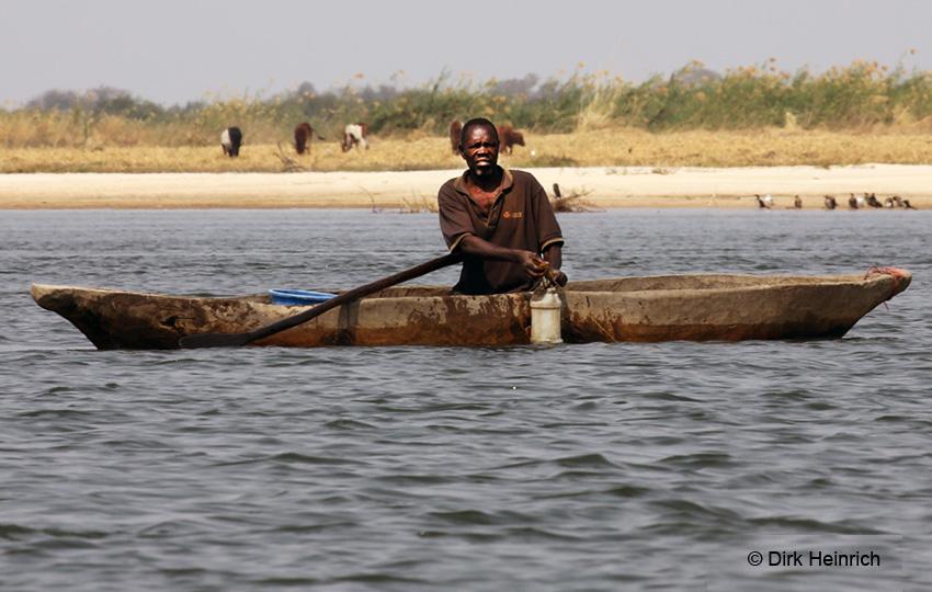 Fischfang mit Mukoro