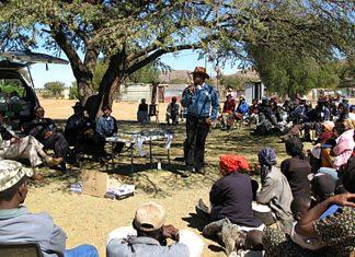 Grundeinkommen für Omitara, Namibia