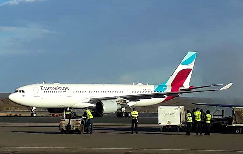 Eurowings-Direktflug nach Namibia