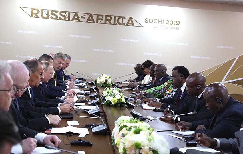 Russland-Afrika Gipfel