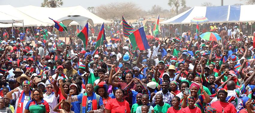Swapo-Wahlveranstaltung
