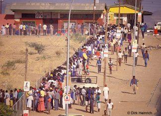 Erste demokratische Wahlen, Namibia, 1989