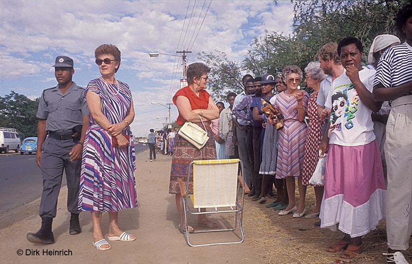 Friedliche Wahlen 1989, Namibia