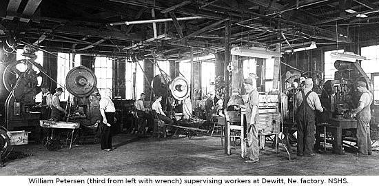 William Petersen's Fabrik