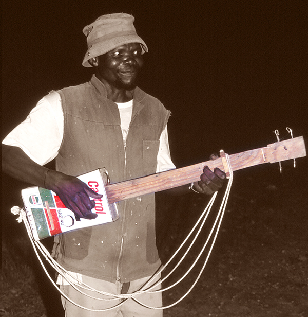 Castrol-Gitarre