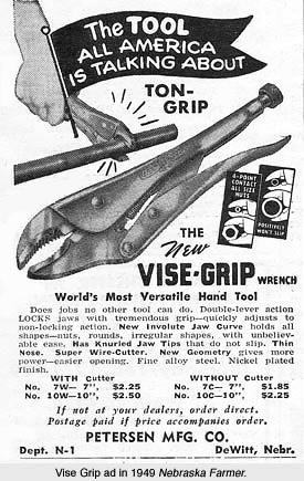 Gripzange Werbung