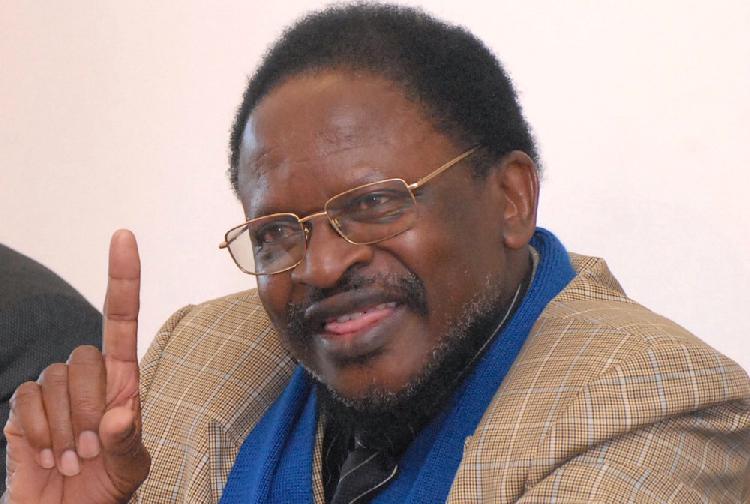 Altminister Jerry Ekandjo, Namibia