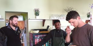 "Kaffeemanufaktur ""Two Beards Coffee"" Swakopmund"