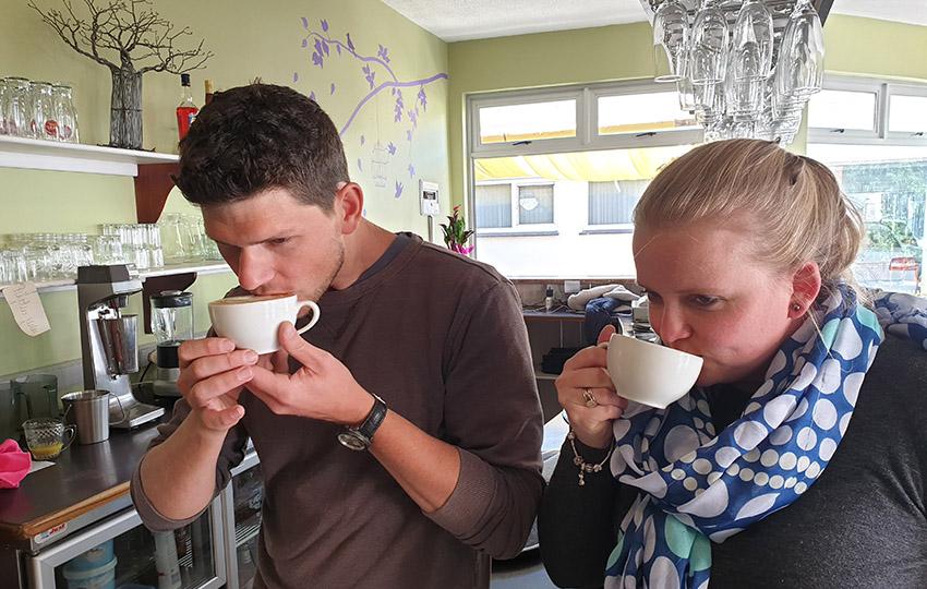 Kaffeemanufaktur Namibia