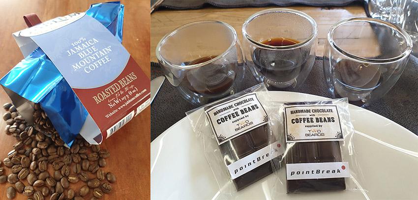 Köstlichkeiten aus Kaffeebohnen