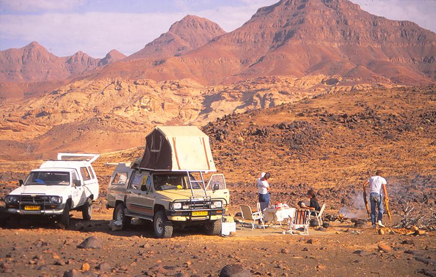 Campen im Damaraland