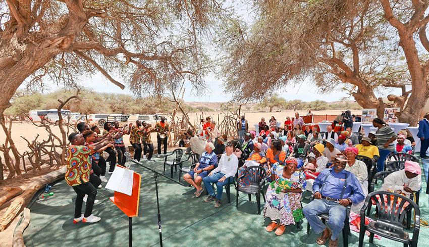 Jojoba-Festival Namibia