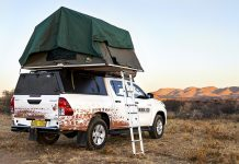 Namibia2Go equipped hilux