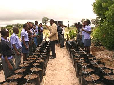 Tröpfchenbewässerung Onamulunga