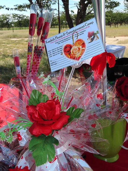 Blumengesteck, Kasikili Florist
