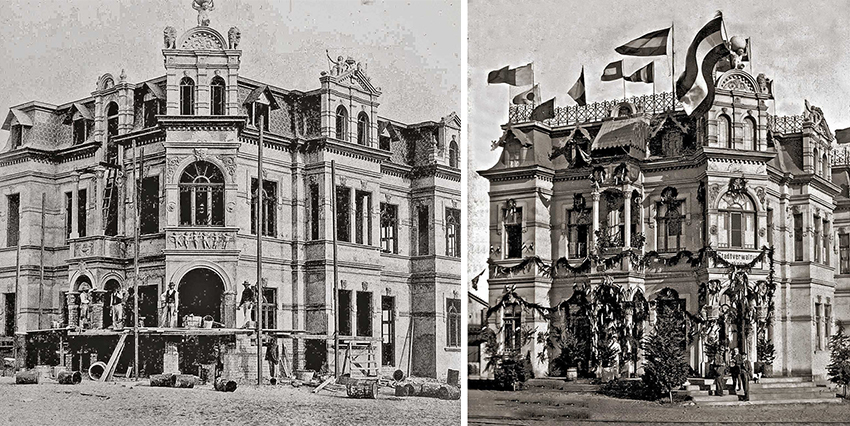 Hohenzollern Haus um 1900