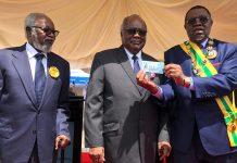 Namibias (Alt-)Präsidenten