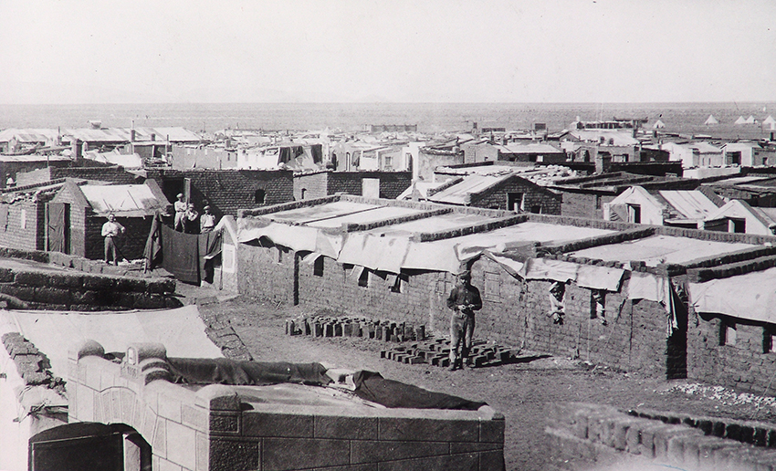 Kriegsgefangenenlager Aus, 1918