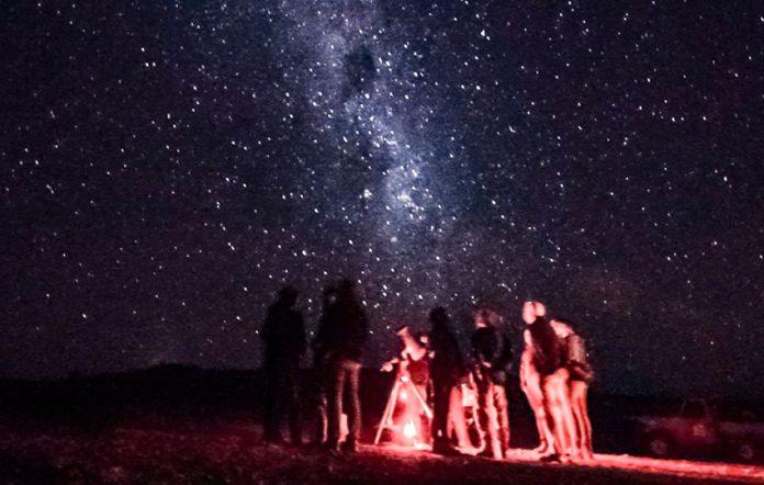 Sterne beobachten Namibia