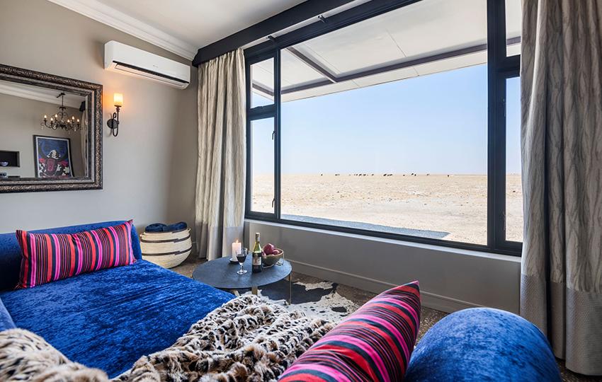 Etosha King Nehale Aussicht