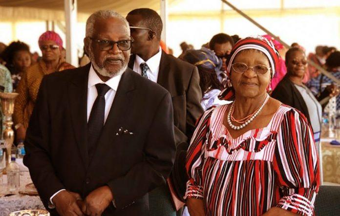 Sam und Kovambo Nujoma