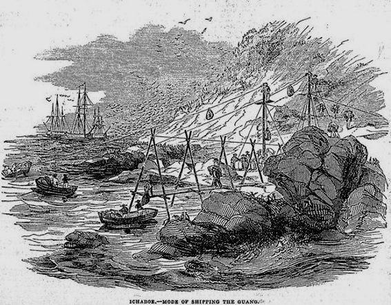 Guano Ichaboe Island1844