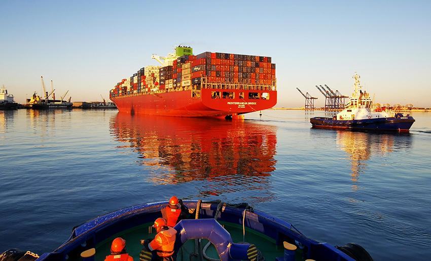 Walvis Bay Hafen
