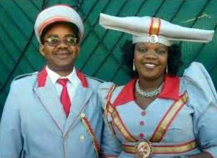 Chief Kambasembi und Frau