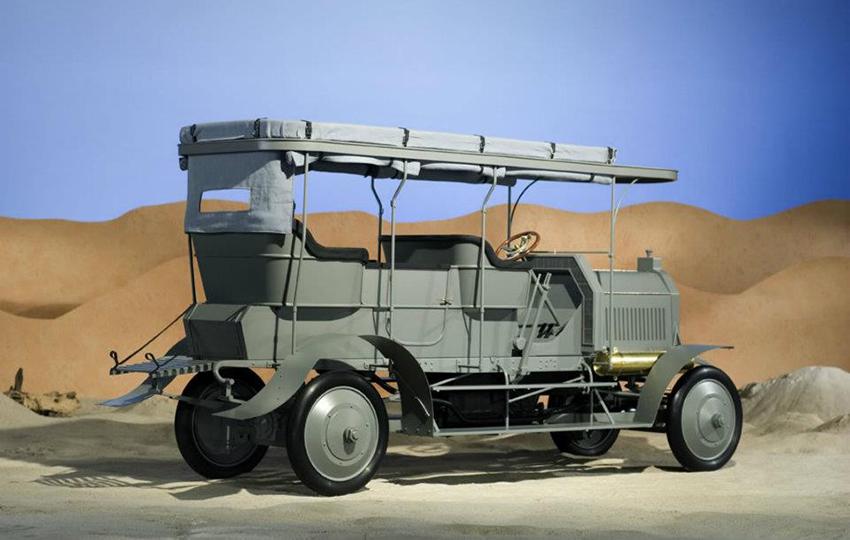 Modell aus Daimler Museum