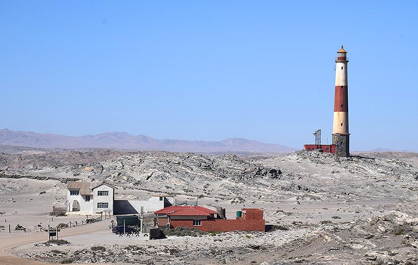 Leuchtturm am Diaz Point, Lüderitzbucht, Namibia