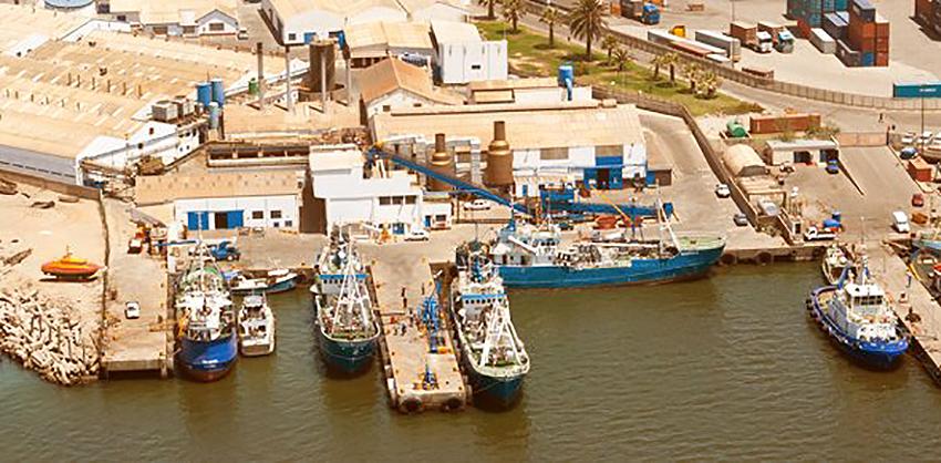 Walvis Bay, Fischfabrik, Namibia